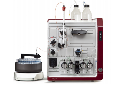 The AKTA pure 25 M1 High Performance Liquid Chromatography (HPLC)